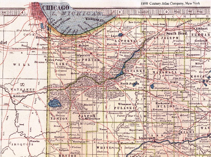 Kankakee River Map 1905
